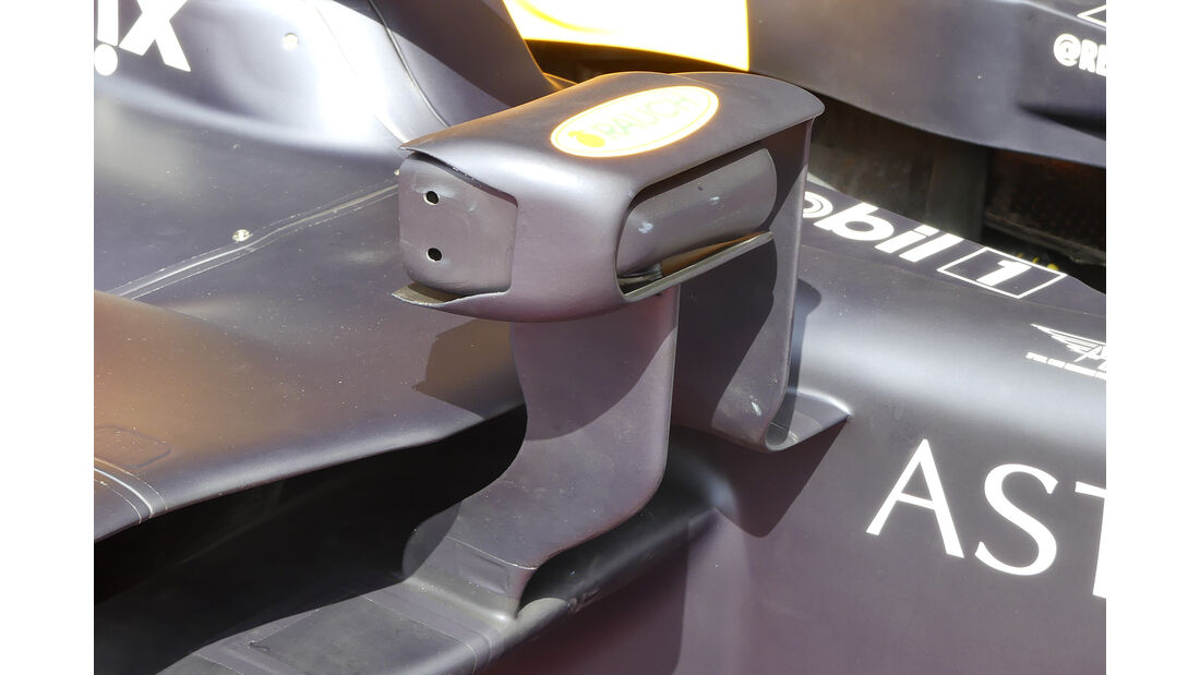 Red Bull - Technik - Upgrades - GP Belgien / GP Italien 2018