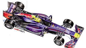 Red Bull - Technik - Y250 - Frontflügel - 2013