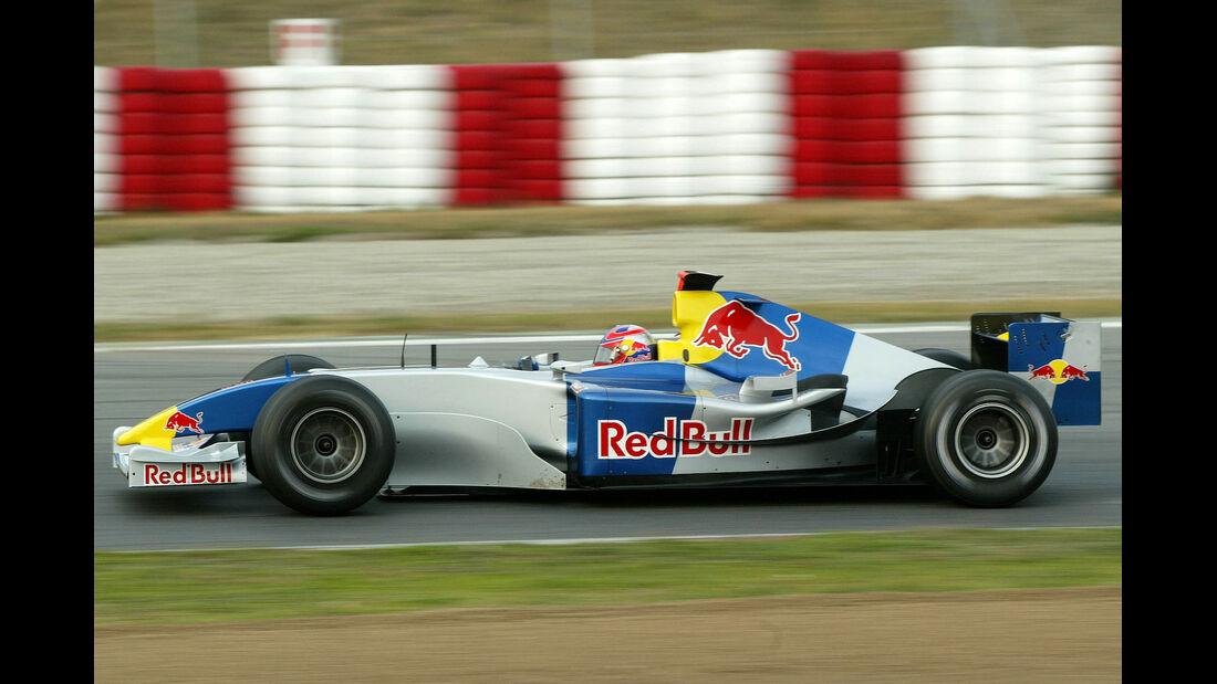 Red Bull - Test - Barcelona - 2004 - Formel 1