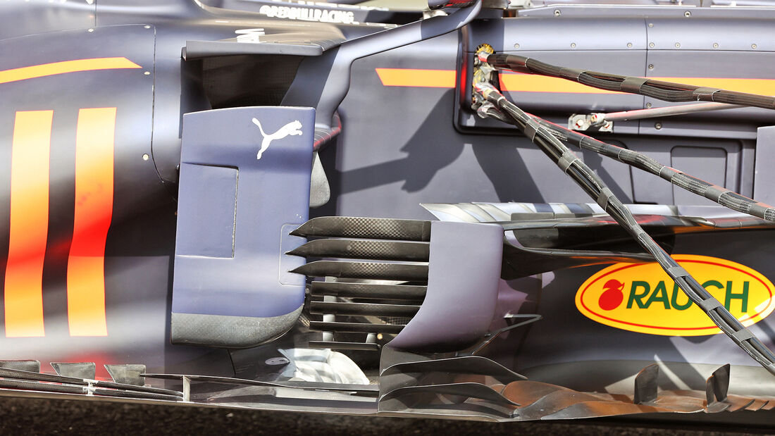 Red Bull - Test - Formel 1 - Bahrain - 12. März 2021