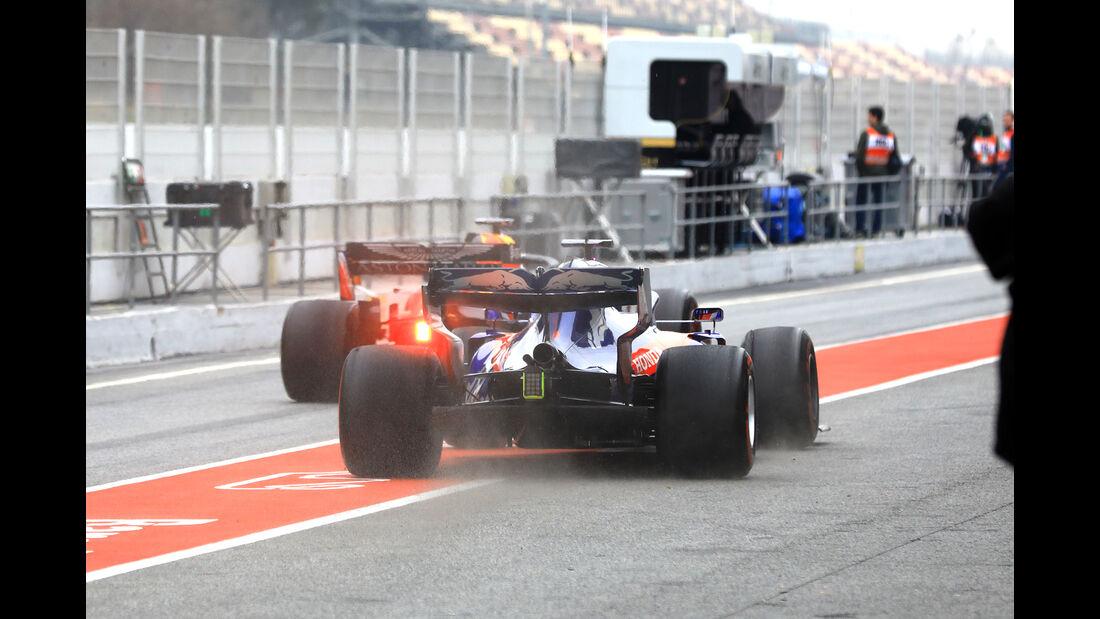 Red Bull & Toro Rosso - Barcelona - F1-Test - 20. Februar 2019