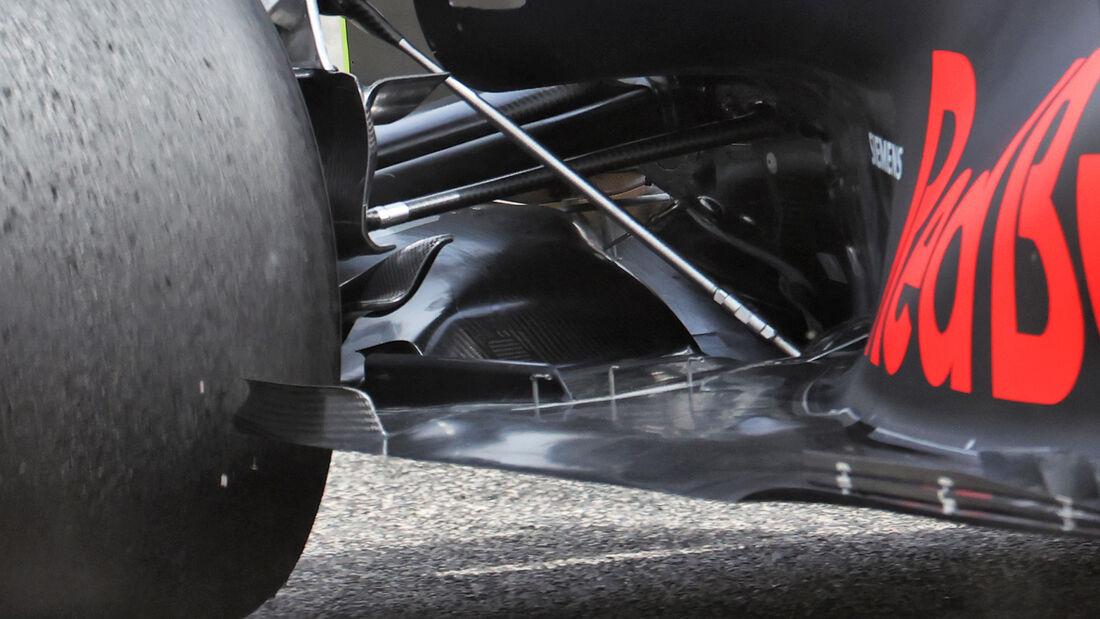 Red Bull - Unterboden - F1-Test - Bahrain - 2021