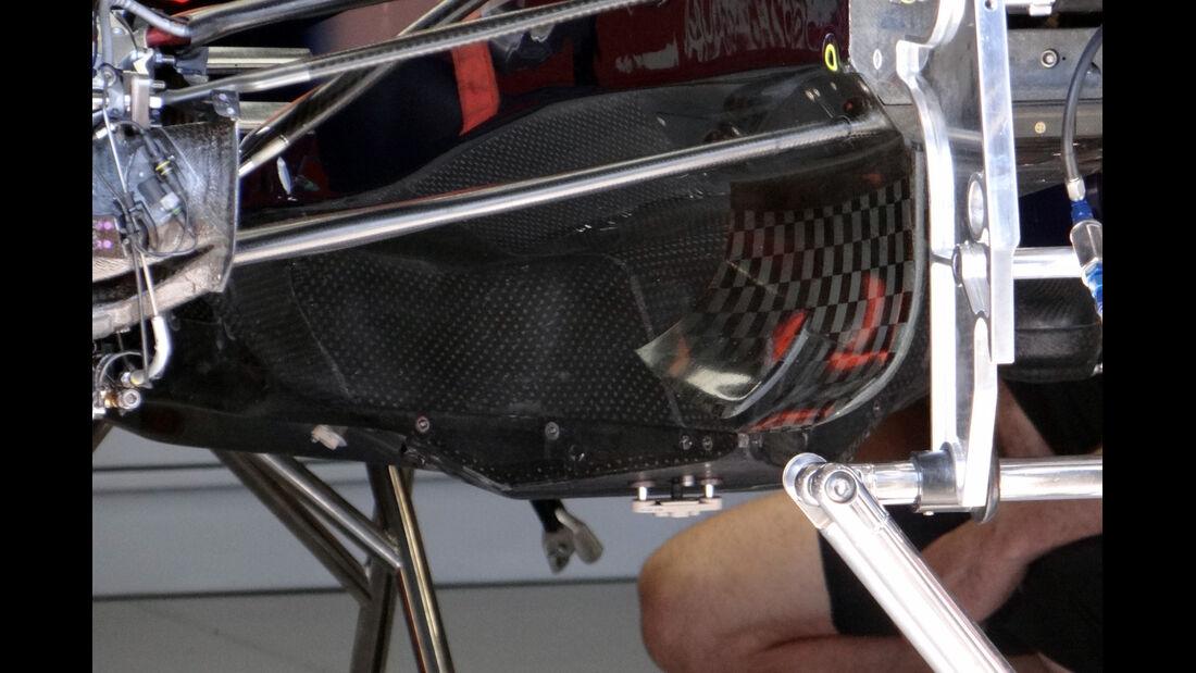 Red Bull Unterboden - Formel 1 - GP Monaco - 22. Mai 2013