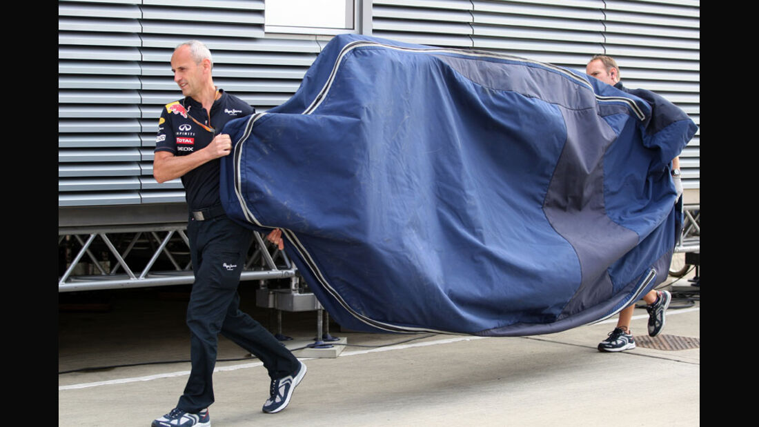 Red Bull-Unterboden - GP England - Qualifying - 9. Juli 2011