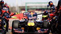 Red Bull Webber Formel 1 Test Barcelona 2011
