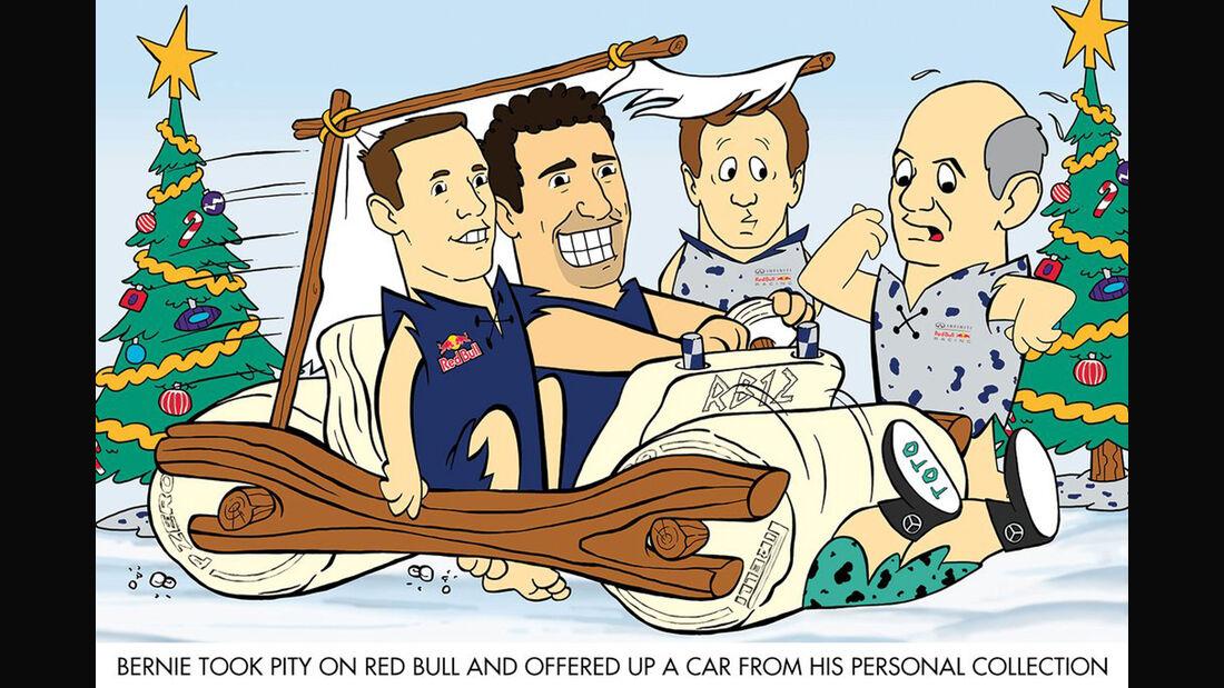 Red Bull - Weihnachtskarte 2015