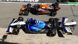 Red Bull - Williams - Formel 1 - GP Spanien - Donnerstag - 6.5.2021