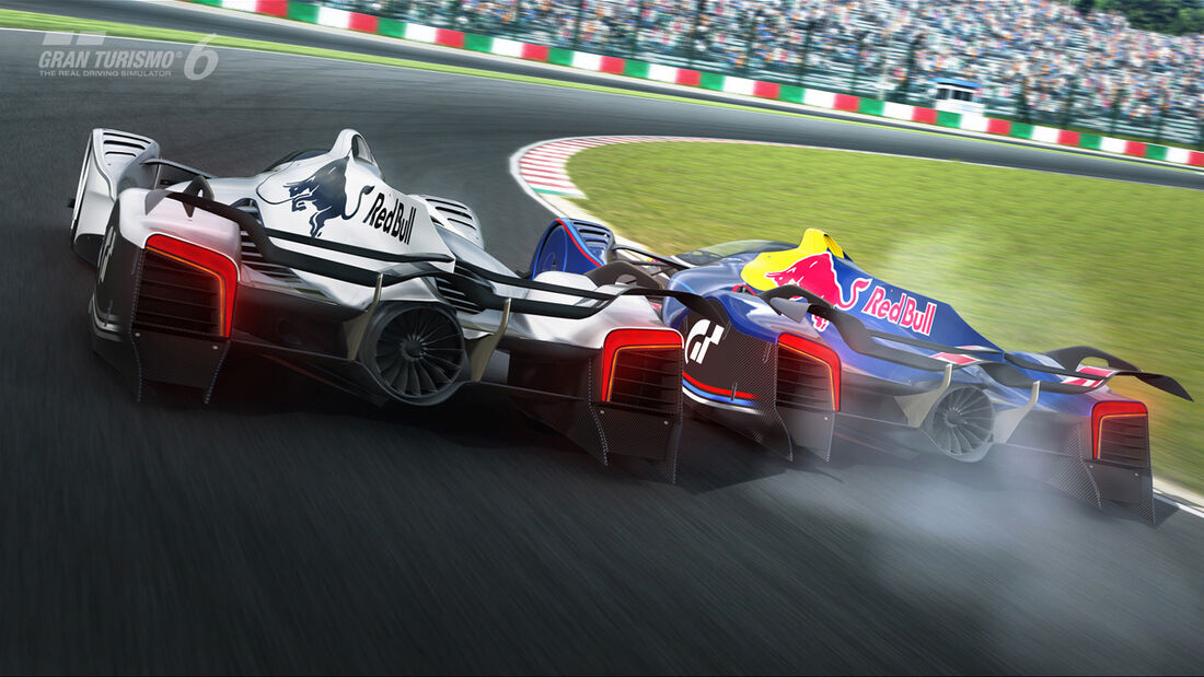 Red Bull X2014 Fan Car - Gran Turismo 6