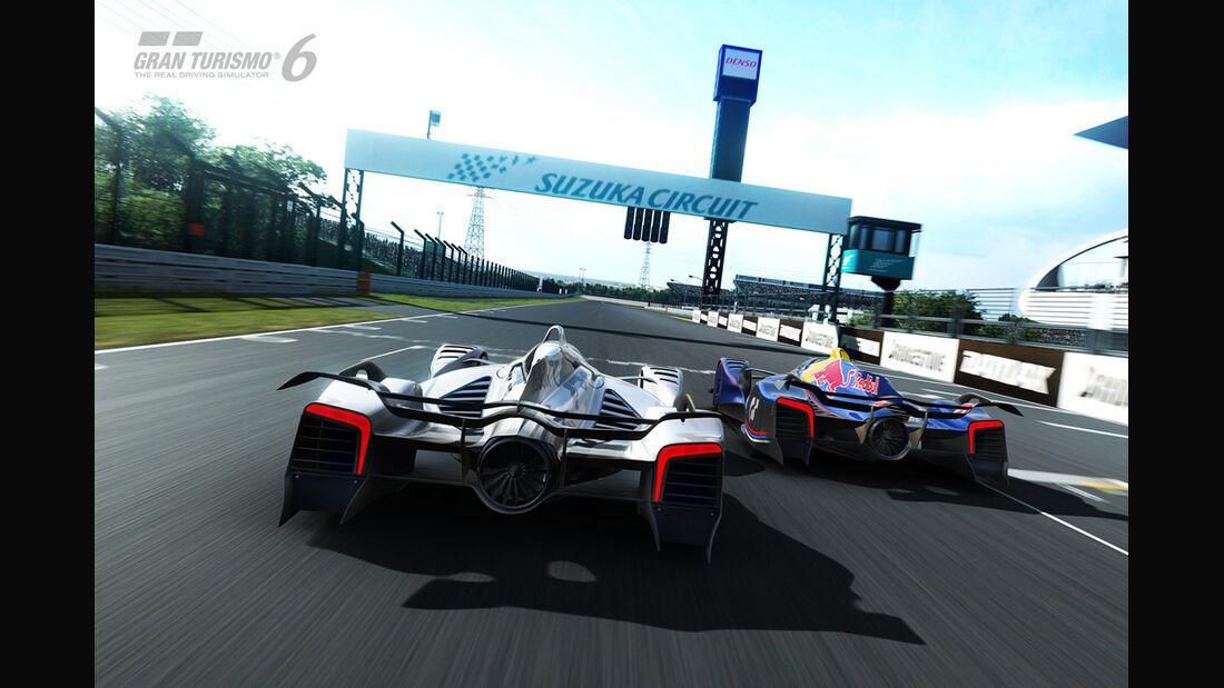 Red Bull X2014 Fan Car - Gran Turismo 6