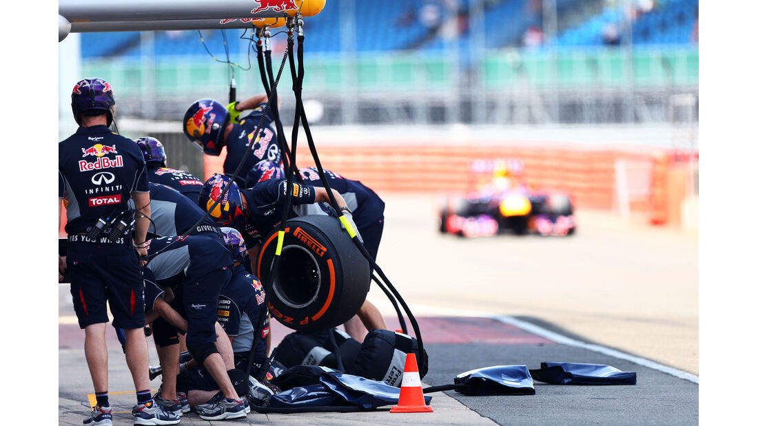 Red Bull - Young Driver Test - Silverstone - 17. Juli 2013