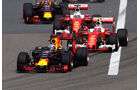 Red Bull vs. Ferrari - GP China 2016