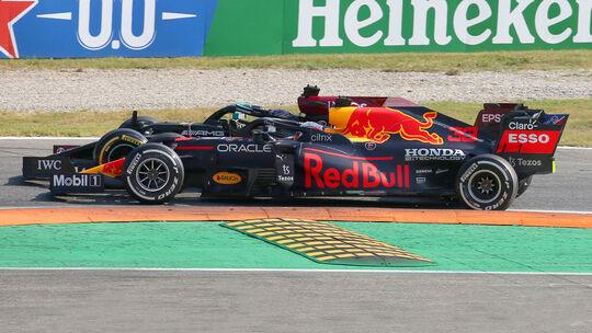 Red Bull vs. Mercedes - Formel 1 - GP Italien - Monza - 2021