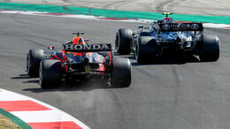 Red Bull vs. Mercedes - Formel 1 - GP Portugal 2021