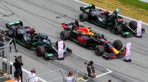 Red Bull vs. Mercedes - Formel 1 - GP Steiermark - Spielberg - 2021