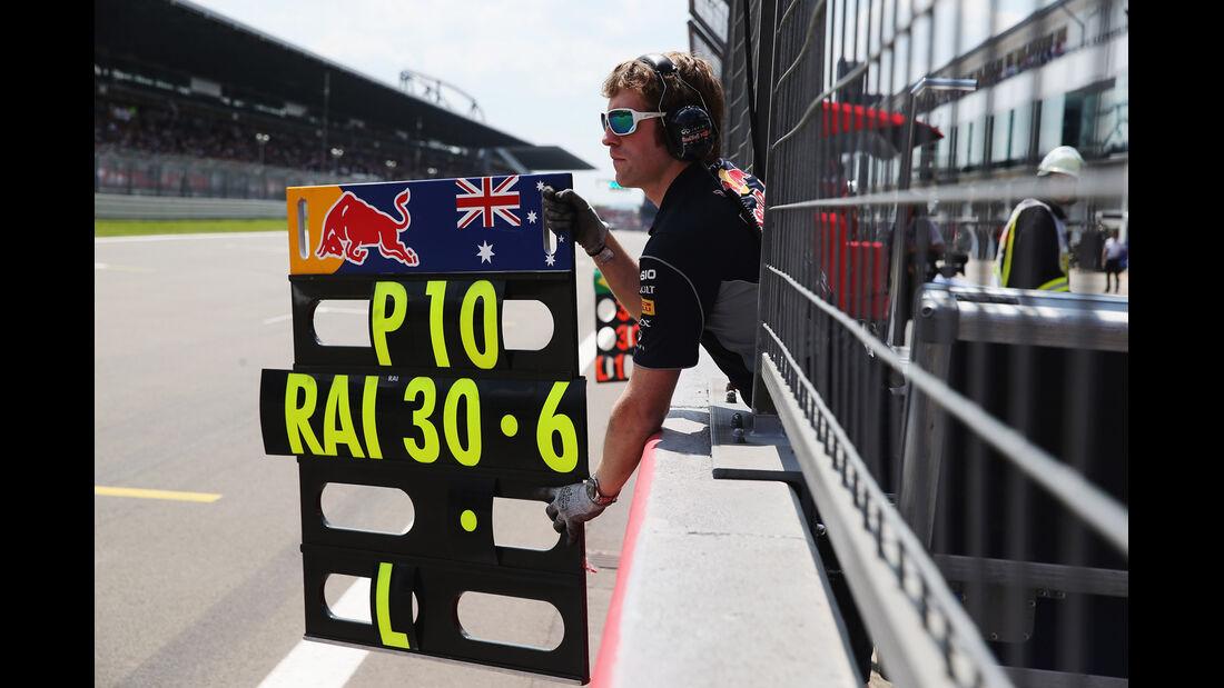 Red Bulll - Formel 1 - GP Deutschland - 6. Juli 2013