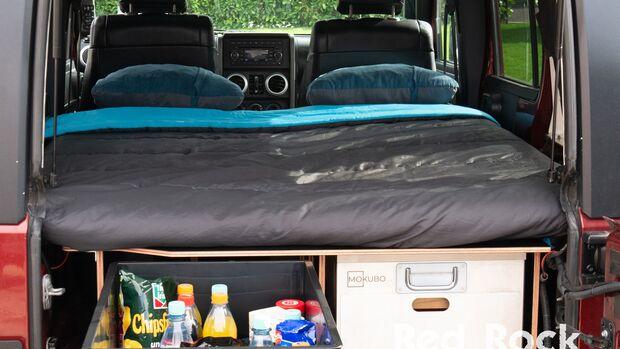 Red Rock Adventures Jeep Wrangler Ausbau Camper