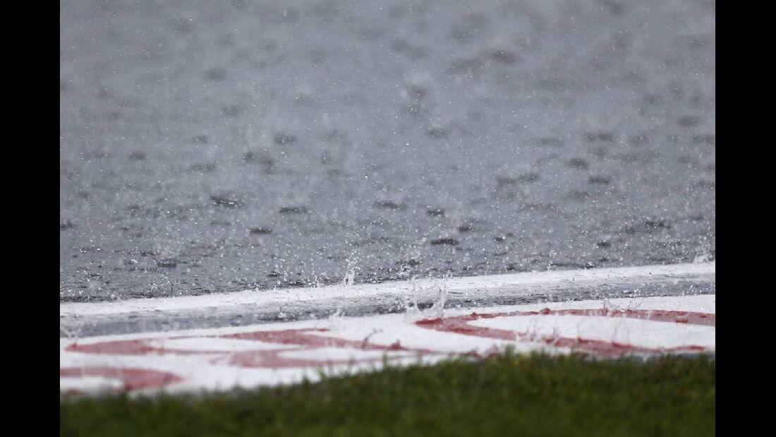 Regen - Formel 1 - GP Deutschland - 21. Juli 2012