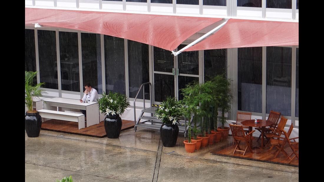 Regen - GP Malaysia - 22. März 2012