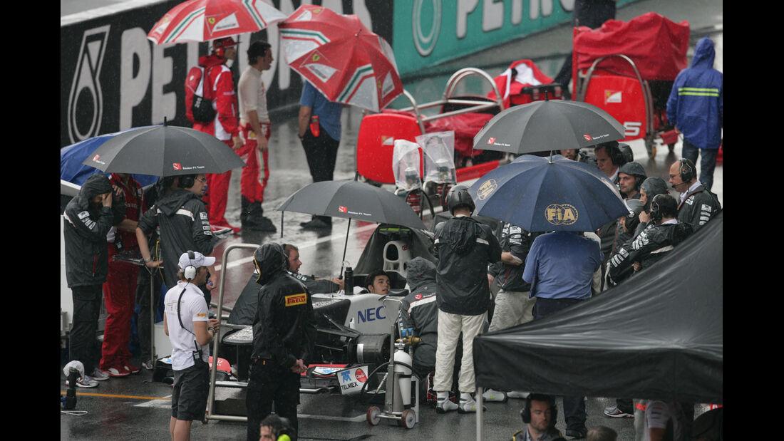 Regenpause GP Malaysia 2012
