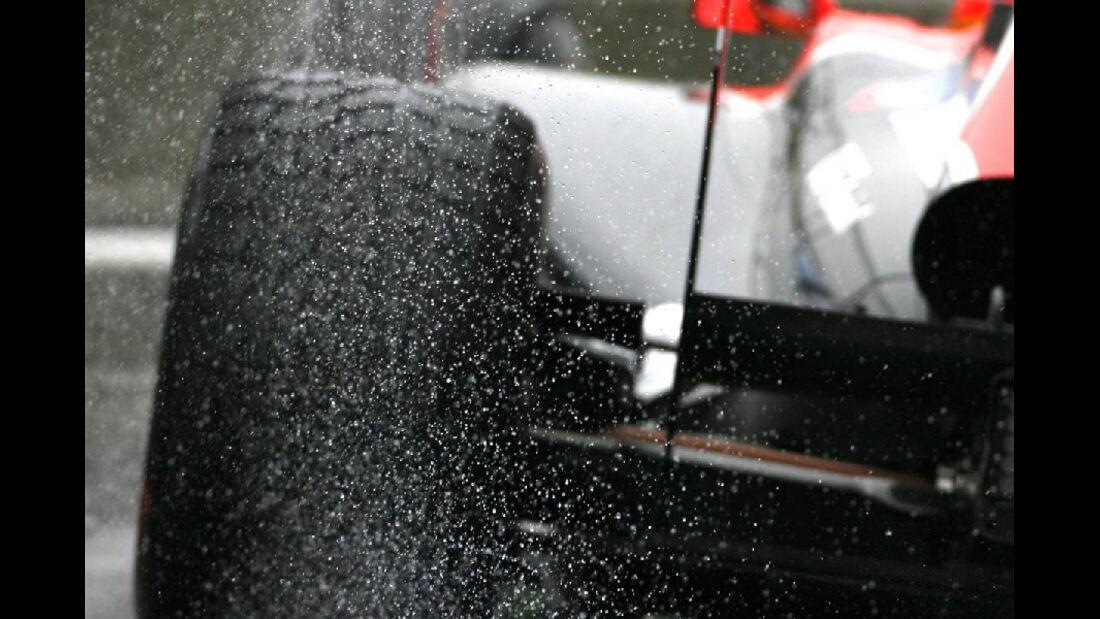 Regenreifen - Formel 1 - GP Korea - 14. Oktober 2011