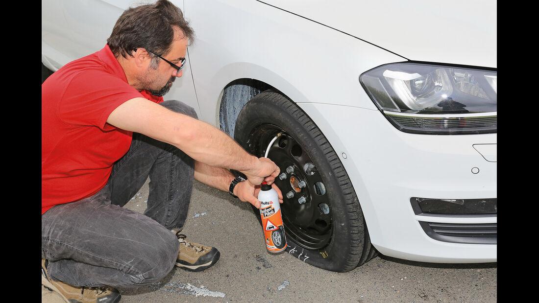 Reifen-Dichtkits, Reifen-Pilot Pannenspray