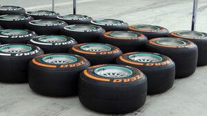 Reifen - Formel 1 - GP Bahrain - 18. April 2013