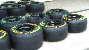 Reifen  - Formel 1 - GP Indien - 25. Oktober 2012