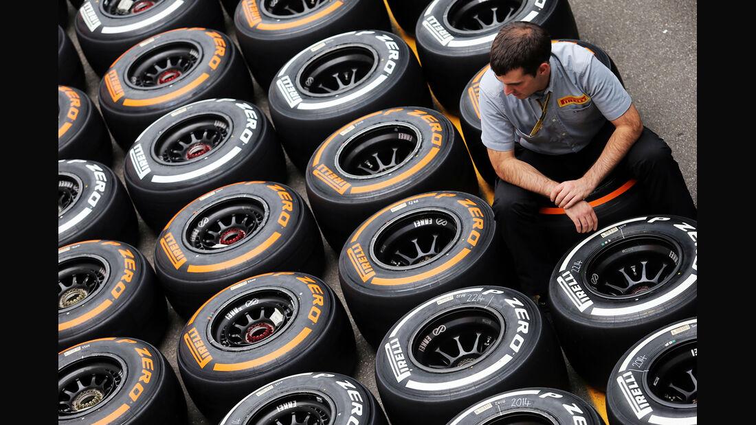 Reifen - Formel 1 - GP Italien - 4. September 2014