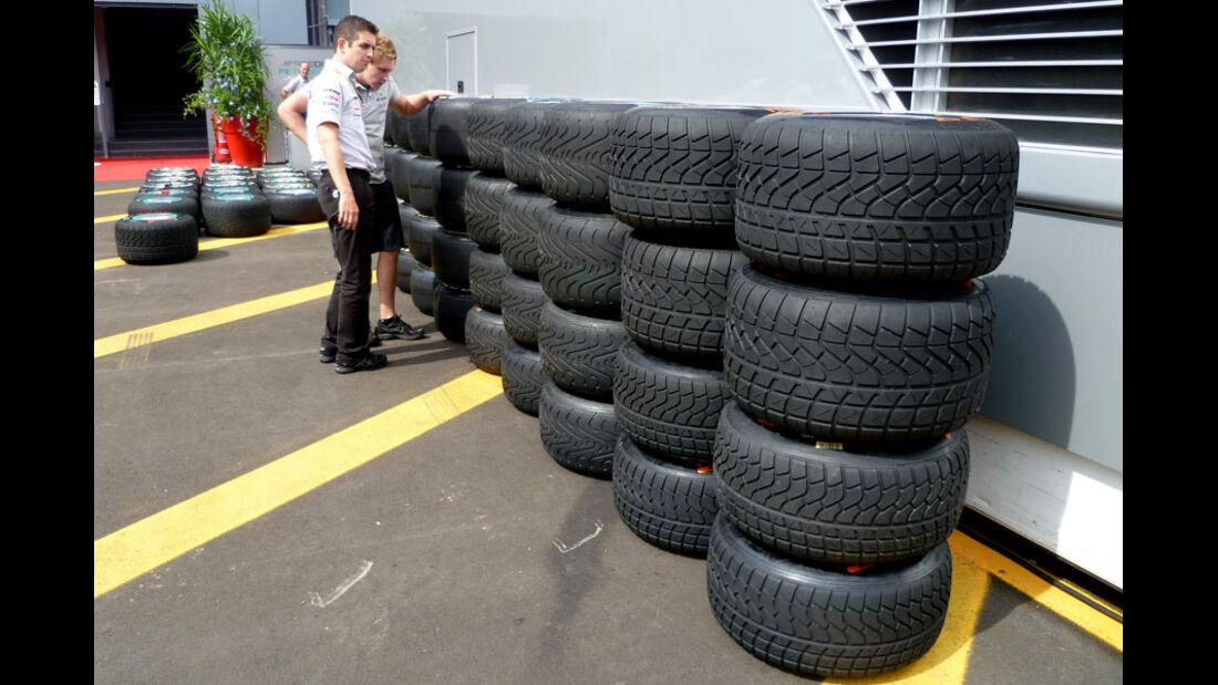 Reifen - GP Italien - 8. September 2011