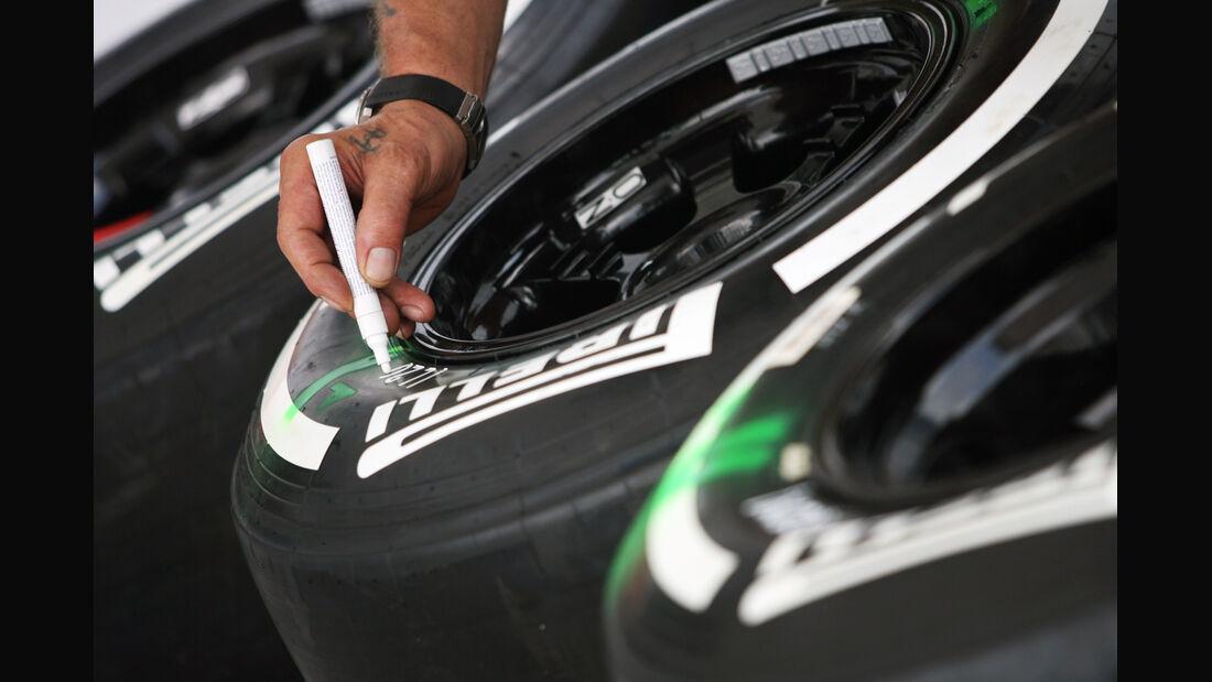 Reifen - GP Malaysia - 22. März 2012