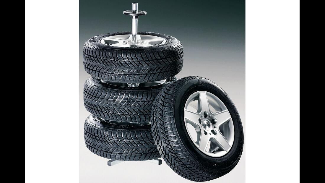 Reifen, Reifenhalter