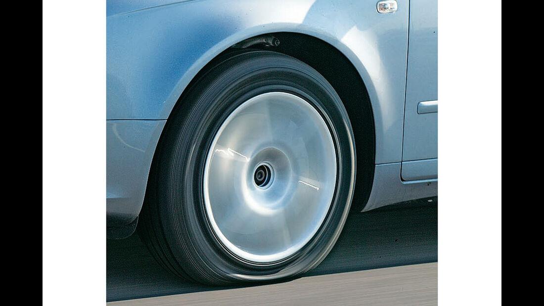 Reifen mit Platten