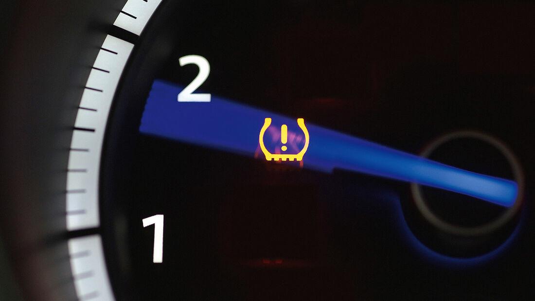Reifendruckkontrolle, Reifendrucksensoren, RDKS