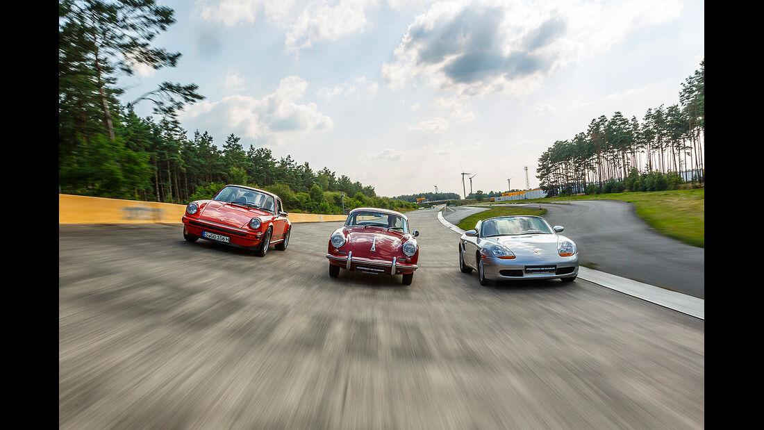 Reifentest Porsche in Motor Klassik 10/2014