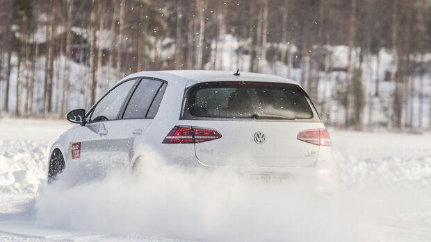 Reifentest, Schnee