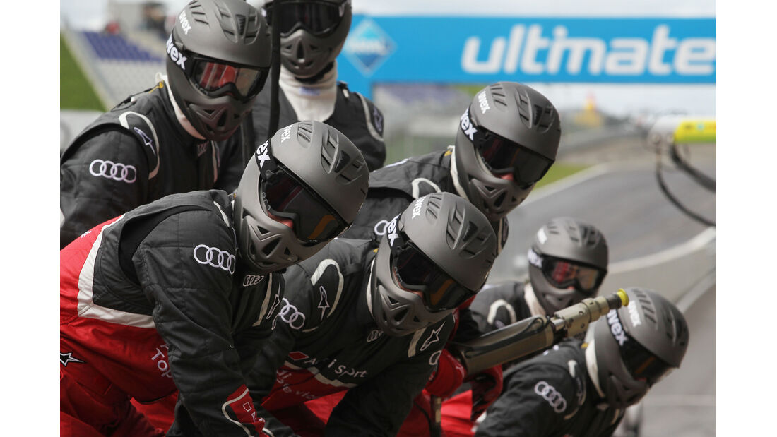 Reifenwechsel Audi DTM Spielberg 2012