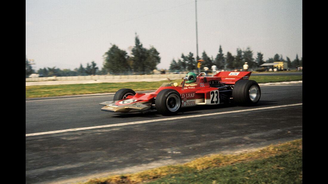 Reine Wisell - Lotus 72C - GP Mexiko 1970