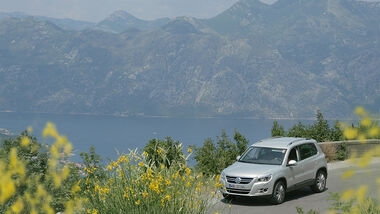 Reise Montenegro VW Tiguan