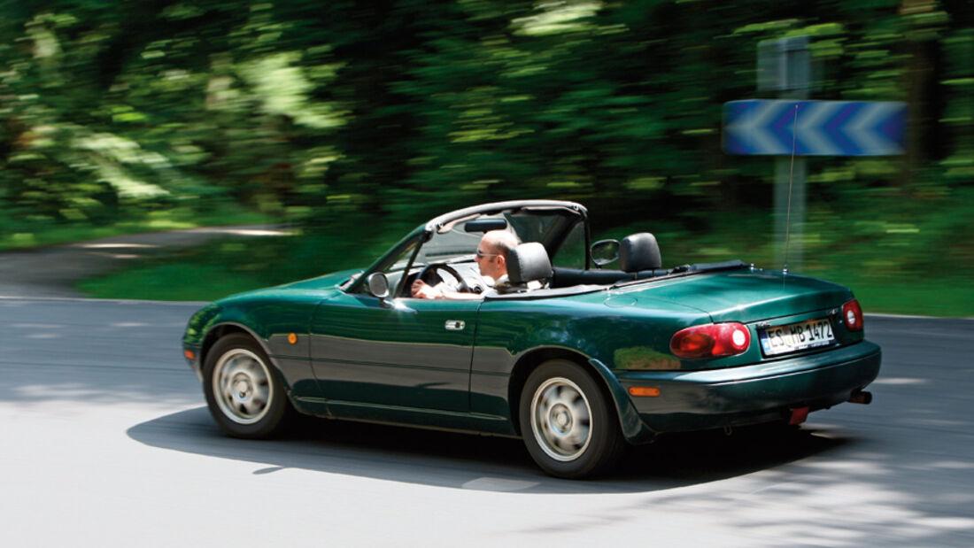 Reise Vogesen, Mazda MX-5