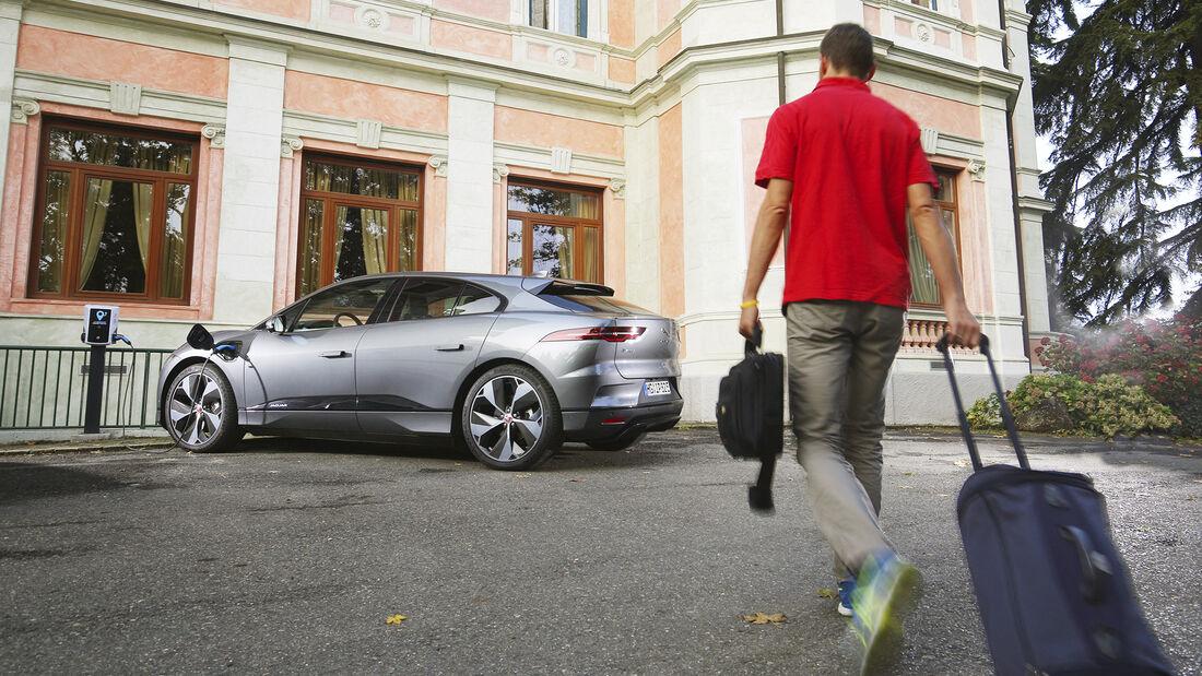 Reisen mit dem Jaguar I-Pace, Jaguar I-Pace Exterieur