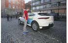 Reisen mit dem Jaguar I-Pace, Jaguar I-Pace Exterieur Taxi