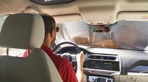 Reisen mit dem Jaguar I-Pace, Jaguar I-Pace Interieur