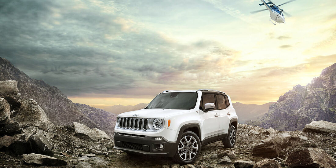 Release the Renegade Jeep Verlosung