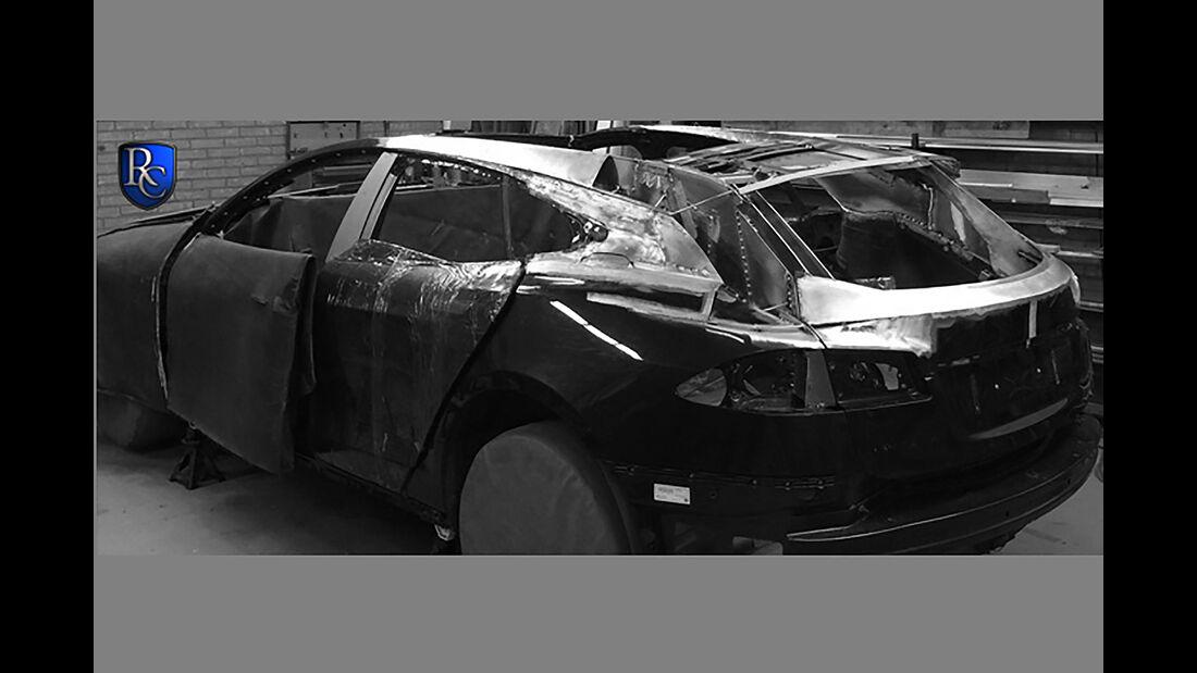 RemetzCars Tesla Model S Shooting Brake