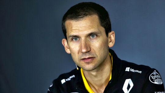 Remi Taffin - Renault F1 Team
