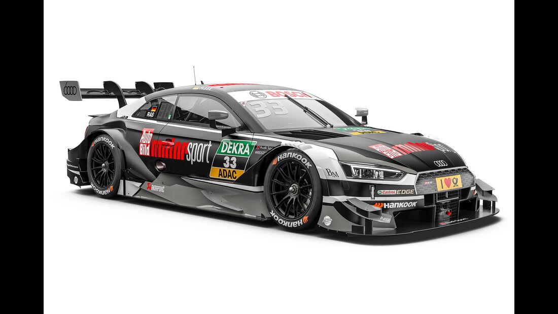 René Rast - Audi - DTM-Auto 2017