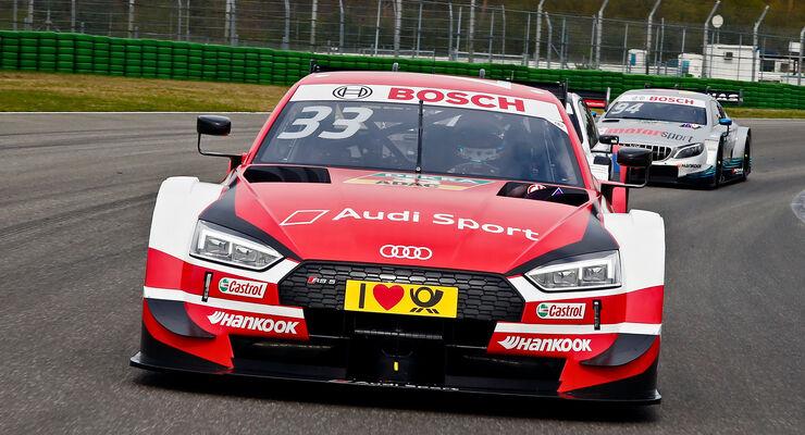 René Rast - Audi - DTM-Autos 2018