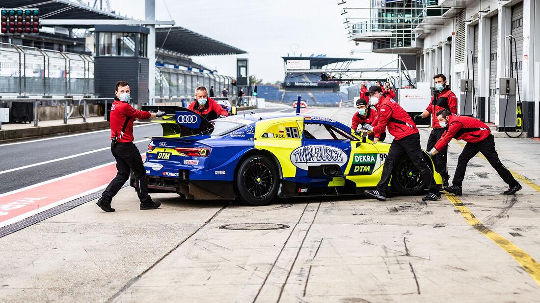 René Rast - Audi RS 5 - DTM - Testfahrten - Nürburgring - Juni 2020