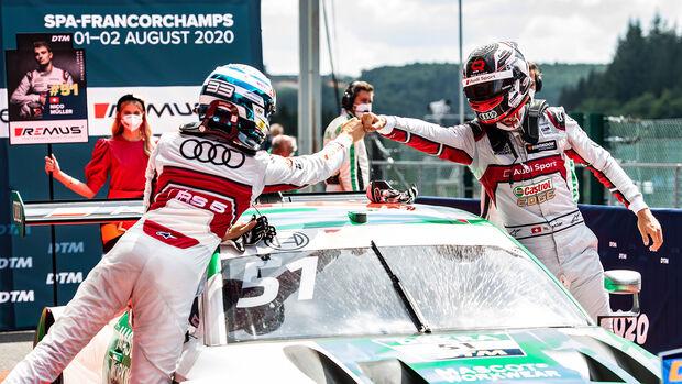 René Rast - Nico Müller - Audi - DTM - Spa-Francorchamps 2020