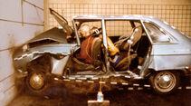 Renault 16, Crashtest, Dummies